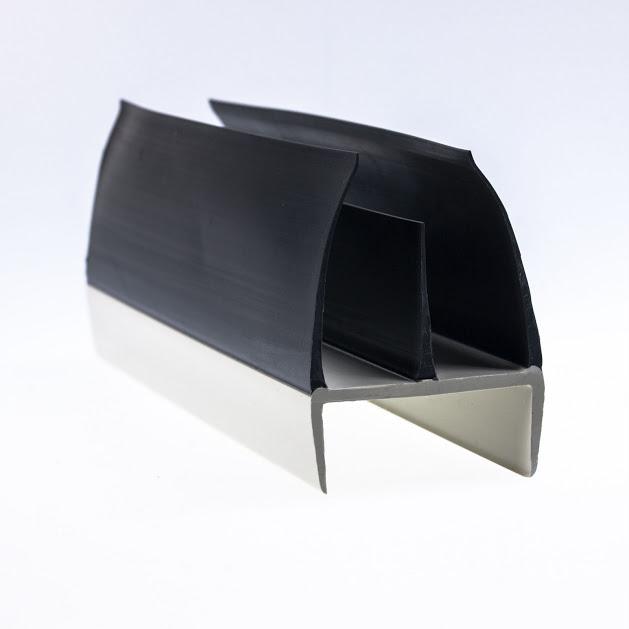 Uszczelka do drzwi grubości 43,5-46,5mm dł. 2,75m, kolor szary do kontenera